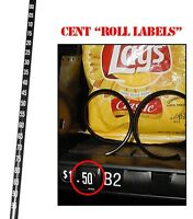 National Vendors, Glasco, GPL Vending Machine Cent Price Rolls