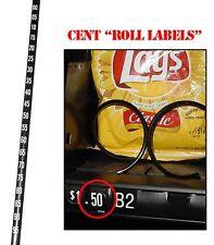 National Vendors, Glasco, Gpl Vending Machine Cent Price Rolls 147 148 157 158.