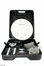 SAB Portable 35cm Camping Satellite Dish Kit Portable Camping Caravan Freesat