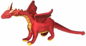 "NEW with Tag - Red Dragon Baby Plush Stuffed Animal 12"" by Hansa Toys 6064"
