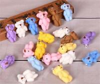 Mini Stuffed Toy Teddy Bear Plush Dolls Kids Cute Animal Keychain Gift DIY Tool