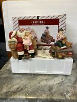 Rare House Of Lloyd Christmas Around World A Chat Santa Talking Figure -As Is