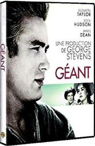 DVD Gigante James Deán - Elizabeth Taylor - Rock Hudson Nuevo en Blíster