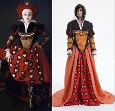 Tim Burton's Alice In Wonderland Red Queen Dress Costume *Tailored*