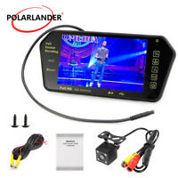 "7"" TFT LCD Car Monitor Mp4 Player Bluetooth USB  Camera  Night Vision TV/DVD/VCD"