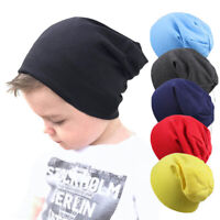 Baby Hip Hop Beanie Hats for Boys Girls Knitted Cap Winter Warm Children Caps