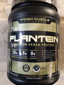 Kaged Muscle Naturals Plantein Cinnamon Roll