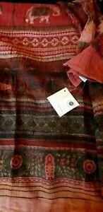 Namaste Indian cotton bed / sofa throw BNWT