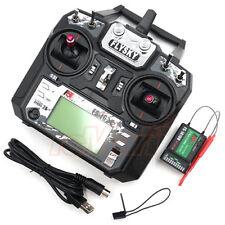 Flysky FS-i6X 2.4GHz 10Channels AFHDS 2A RC Radio Transmitter w/Receiver #FS-i6X