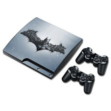 BATMAN ARKHAM ORIGINS Skin For SONY PS3 SLIM Console Controller Decal Sticker