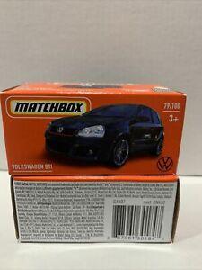 MATCHBOX 2021 - VW GOLF GTI MK V [BLACK] POWER GRABS SEALED UNOPENED HTF