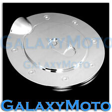 07-13 GMC Sierra 1500+2500+3500+HD Triple Chrome Plated Fuel Gas Cap Door Cover