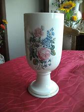 Vase, Ständervase von Hutschenreuther, Höhe 26 cm