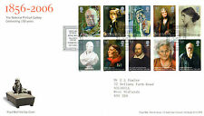 18 JULY 2006 THE NATIONAL PORTRAIT GALLERY ROYAL MAIL FIRST DAY COVER SHS