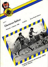 CWC EC II 86/87 1. FC Lok Leipzig - Glentoran Belfast, 01.10.1986