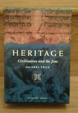 Heritage Civilization and the Jews Abba Eban HVE 3 DVDs plus 1 DVD-ROM Very Good