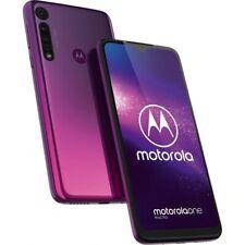 Motorola One Macro 4GB RAM 64GB Purple Android Smartphone Handy ohne Vertrag