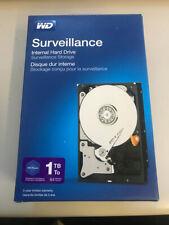 """WD Purple Surveillance 1TB Internal Hard Drive 5400RPM SATA III 6Gb/s 3.5"""" NOB!"""