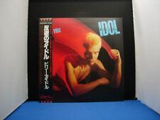BILLY IDOL REBEL YELL white label promo JAPAN