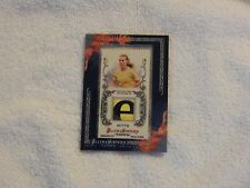 Heather Mitts 2011 Topps Allen and Ginter Game Worn Soccer Jersey