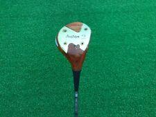 NICE MacGregor Golf JIMMY DEMARET Custom Made Persimmon 2 WOOD Right Steel STIFF