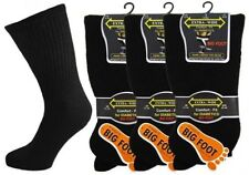 6 Mens EXTRA WIDE Cotton Rich DIABETIC Loose Wider Top BIG FOOT Socks UK 11-14