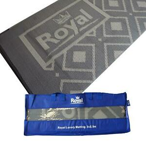 Royal Luxury Awning Matting & Tent Breathable Carpet Groundsheet with Deluxe Bag