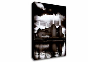 Battersea Power Station Architecture 00738 Canvas Print Wall Art