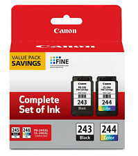 NEW! Genuine Canon Ink Cartridges PG-243 & CL-244 Original MG2522 TS3122 TS4520