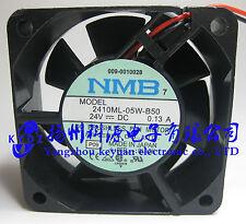 NMB-MAT Converter Fan 2410ML-05W-B50 6025 24V 0.13A 6cm 60*60*25MM New #J297 lx