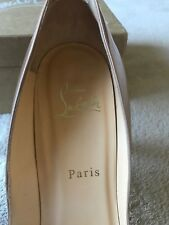 Christian Louboutin Pigalle Follies Size 39 pre owned With Box