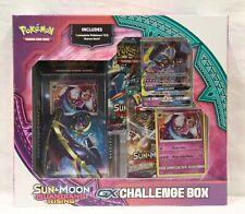 Pokemon S&M Guardians Rising GX Challenge Box - Lunala - Sealed - NIB