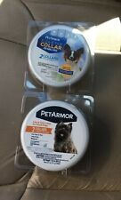 4 Pet Armor Flea & Tick Collar 2 Per Pack For Small Dog 12 Month Protection New