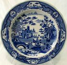 """SPODE THE BLUE ROOM COLLECTION Gothic Castle 10"""" Dinner Pate EUC"""