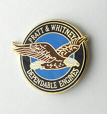 PRATT & AND WHITNEY ENGINE ENGINES AIRCRAFT AVIATION LAPEL PIN BADGE 1 inch
