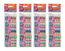 4-Pack Set Dreamworks Trolls 8-ct Colored Pencils (32 Total), Gifts/Party Favors