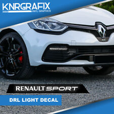 KNR0801 - CLIO RENAULT SPORT DRL STICKER DECAL RS - CLIO Mk4 IV RS 200 220 GT
