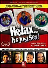 "DVD NEUF ""RELAX IT'S JUST SEX"" P.J. CASTELLANETA / gay interest"