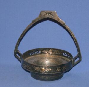 Antique Argentor Austria Silver Plated Basket