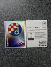 PANINI CHAMPIONS LEAGUE 2011/12 NR. 260 BADGE GNK DYNAMO ZAGREB