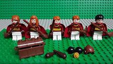 LEGO HARRY POTTER 4737 QUIDDITCH MATCH Gryffindor MINIFIGURES Genuine Lego