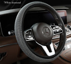 Car Steering Wheel Cover 38cm15 Shiny Rhinestone Bling Diamond For Girl Lady
