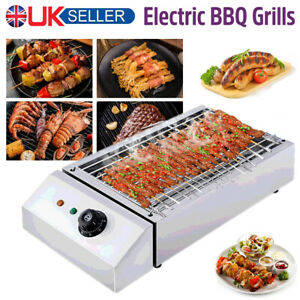 Electric Grill Countertop BBQ Barbecue Garden Camping Home Party cooking 2800W