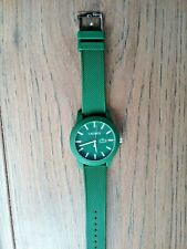 mens lacoste watch used Once green excellent condition