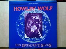 Disque vinyle lp Howlin' Wolf. His Greatest Sides