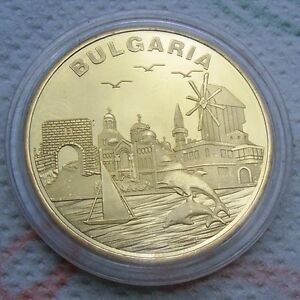 BULGARIAN coin medal PROOF