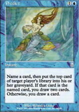 T-Chinese Predict ~ Moderately Played Odyssey Foreign UltimateMTG Magic Blue Car