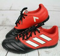~~ADIDAS ACE 17.4 MEN'S FOOTBALL BOOTS SHOES BB1771 UK 8 RED/BLACK