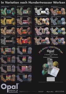 Opal Sockenwolle 4-fach Hundertwasser, Knäuel á 100 g, 4-fädig, GP: 6,95/100g