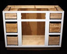 "Kraftmaid 45"" Dove White Maple Bathroom Vanity Sink Base Cabinet"